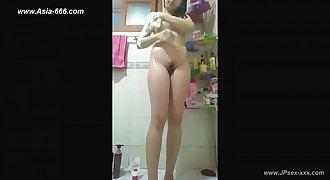 peeping chinese women bath