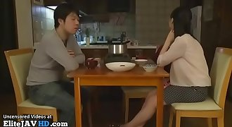 Japanese wife cheating spouse with her boss - More at Elitejavhd.com