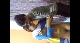 Indian 20y old cute lovely sister enjoyed by own Cousin when parents not home