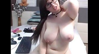 Chubby rides dildo free webcam
