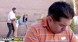 BANGBROS - Big Booty MILF Rachel Starr Fucks Her Golf Instructor Behind Husband's Back