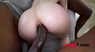 Bad Ass Alex Harper in her American Anal BBC DP Gapes Galore AA028